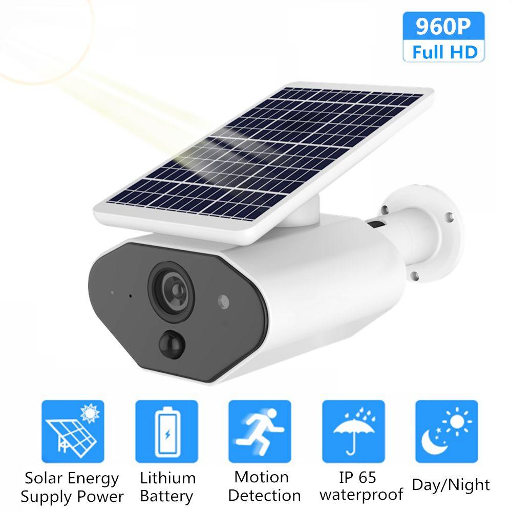 ZILNK Outdoor Sicherheit Kamera 1080 P HD Draht-Freies Solar Powered Batterie WI-FI IP Kamera CCTV Überwachung Wasserdichte PIR TF Karte