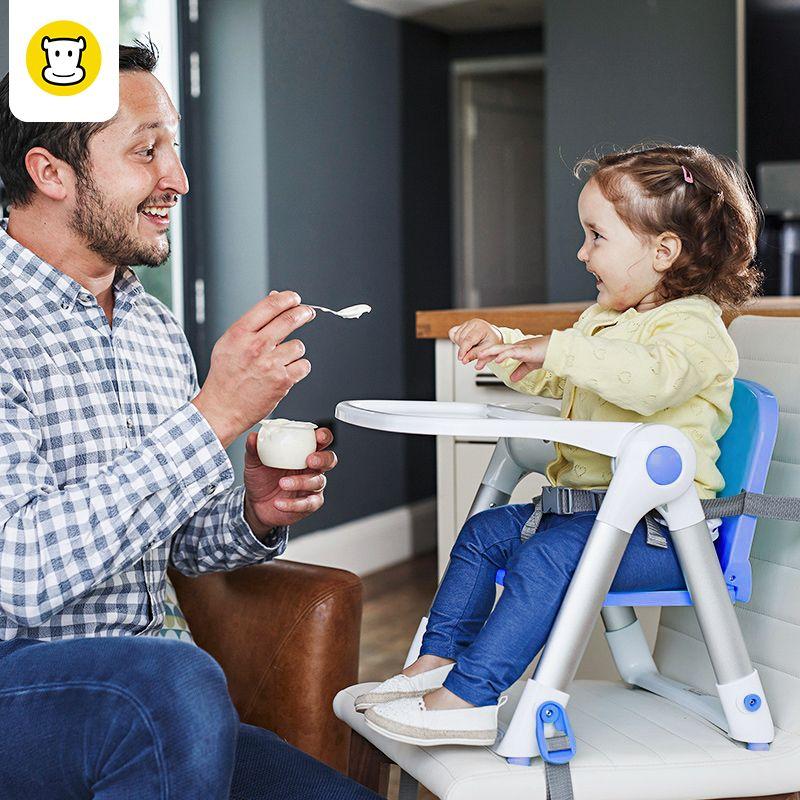 BAAOBAAB Pliable Pliable Portable À Manger la Sécurité des Sièges D'appoint Ceinture Chaise Haute Bébé/Enfant/Enfants Dîner Chaise D'alimentation, 0-15 kg
