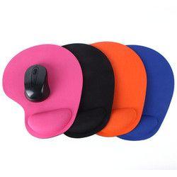 Tapis de souris Poignet Protéger Optique Trackball PC Épaississent Tapis de Souris Doux Confort Souris Pad Tapis de Souris Souris