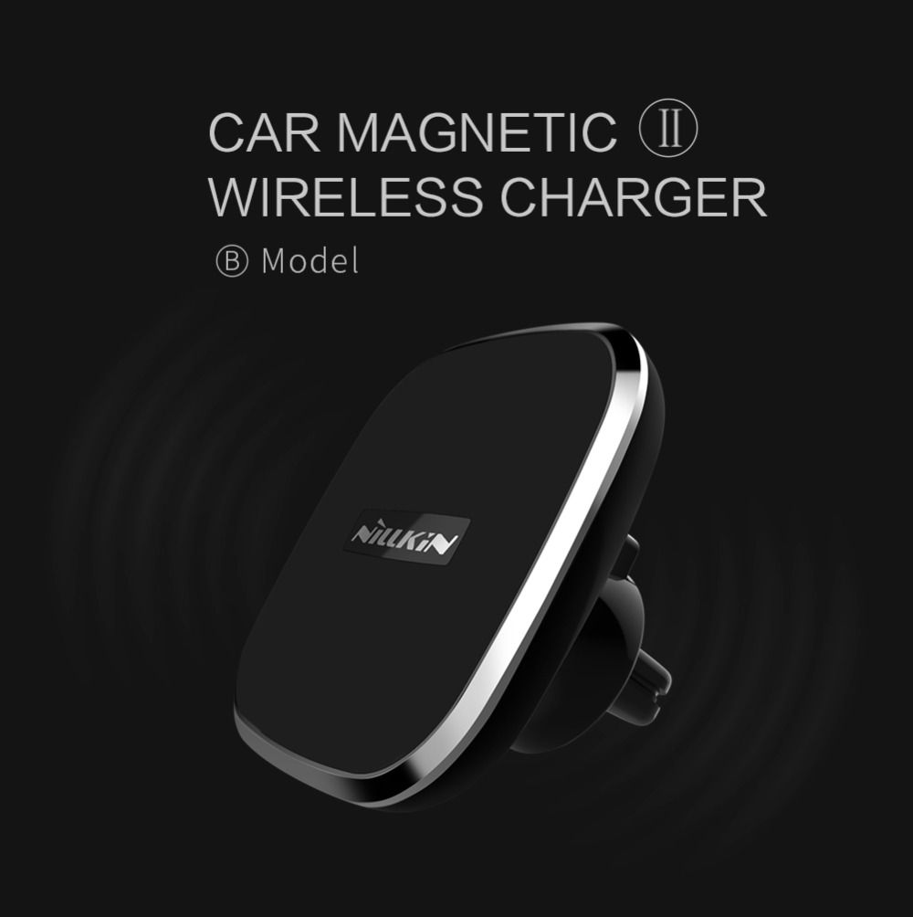 Nillkin Car Wireless Charger for Galaxy Note 8 S8 Plus for Xiaomi Mi 6/<font><b>Oneplus</b></font> 5 USB Magnetic Car Charger Holder for iPhone X 8