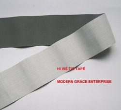 DIY 5 cm x 3 m Haute visibilité grade réfléchissant cousu-sur bande réfléchissante tissu cousu sur vêtements sacs pour visibilité sécurité utiliser