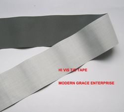 DIY 5 cm x 3 m alta visibilidad reflectante grado cosido en la cinta, cosido en la ropa bolsas para visibilidad uso