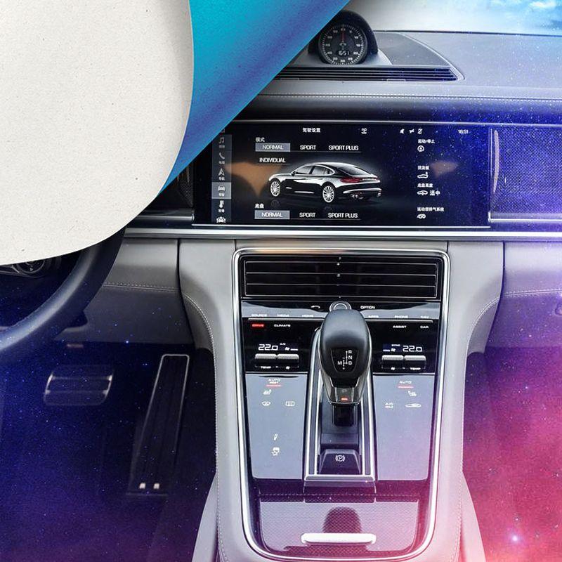 Long Wheelbase/ Short Wheelbase Whole Car Interior Trim Protective Film A Set Left Hand Drive For Porsche Panamera 2017 2018
