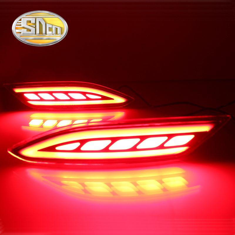 SNCN Multi-function Reflector LED Rear Fog Lamp Bumper Light Brake Light Turning Signal Light For Honda HRV HR-V 2015 2016 2017