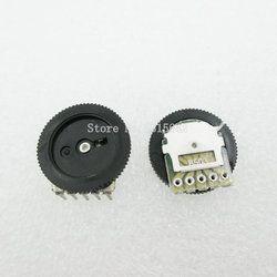 10 PCS/LOT 16*2mm Aksesoris tuning potensiometer B503 50 K 5Pin Dial Potensiometer Ganda