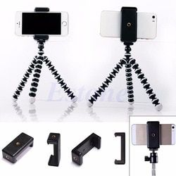 Mini Mobile Phone Camera Tripod Stand Clip Bset Selling Bracket Holder Mount Adapter for HTC iPhone Handlebar Clip