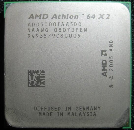 AMD Athlon X2 5000x2 5000 2.6 GHz ADO5000IAA5DO ADO5000IAA5DU ADO5000IAA5DS dual-core procesador socket AM2 940pin