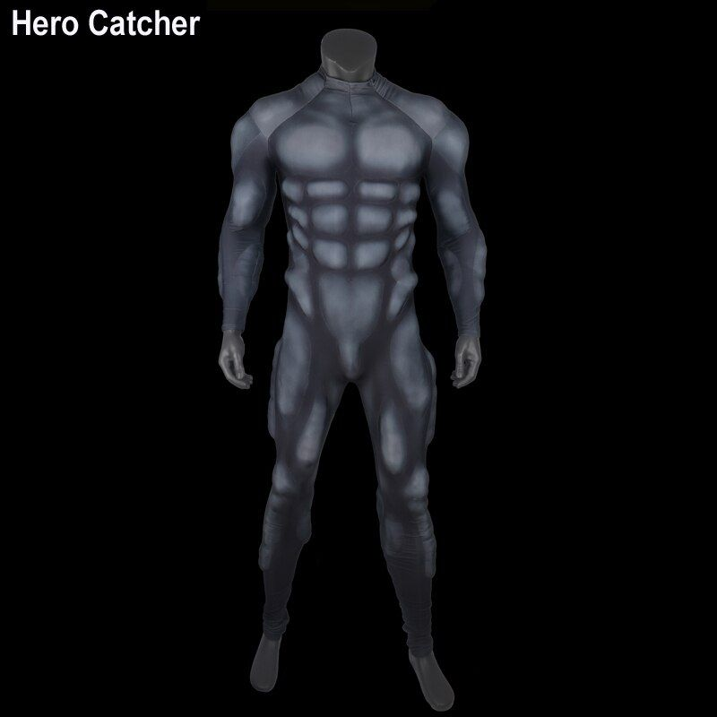 Hero Catcher-4 High Quality Black Muscle Suit Foam Padding Inside Muslce Suit