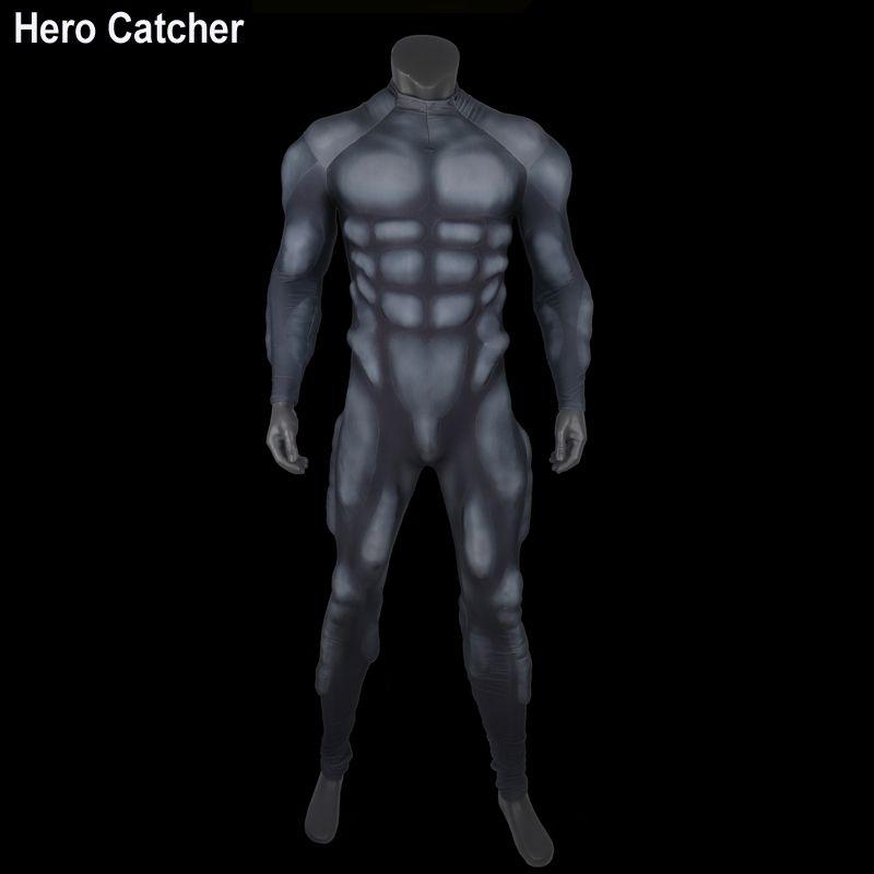 Hero Catcher-4 High Quality Black Muscle Suit Foam Padding Inside Muslce Suit