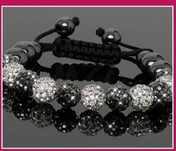 Free Shipping!10mm handmade New Style Disco Ball Beads men BGGH crystal crystal  bracelet . fasion women jewelry   Shamballa