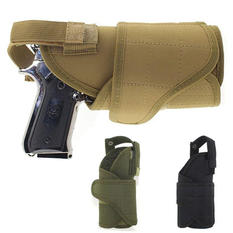 Молл Тактические Талия Универсальный Регулируемый правой одноцветное кобуры пистолет мешок