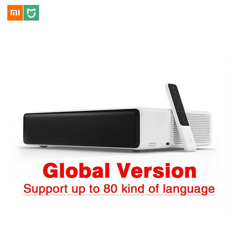 Original Xiaomi Mijia Laser Projektor TV 150 Zoll Mehrsprachige 1080 Volle HD 3D ALDP 3,0 Unterstützung 4K Video TV dolby DTS