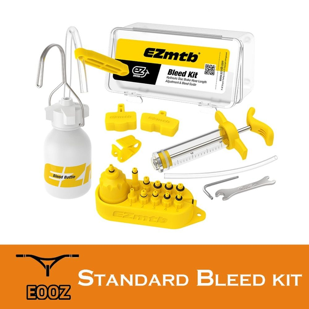 EZmtb Universal Bicycle Hydraulic Disc Brake Bleed Kit For shimano tektro magura hayes formula sram avid giant zoom