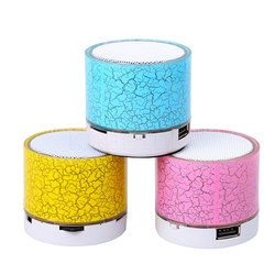 Newest Wireless Portable Mini LED Bluetooth Speaker USB Wireless Music Sound Box Subwoofer Loudspeakers for ios Android phone pc