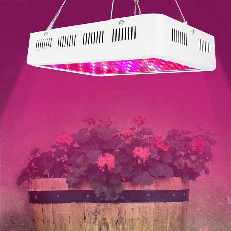 1000W 60LED Full Spectrum LED Grow Light Red/Blue/White/UV/IR growth lamp for indoor greenhouse hydroponicstent plants
