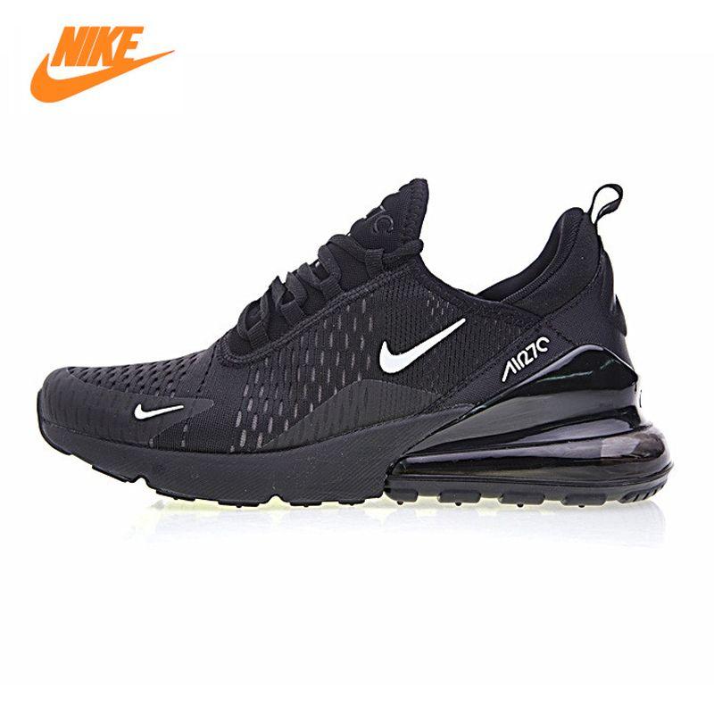Nike Air Max 270 Men's Running Shoes, Blue Black, Shock-absorbing Non-slip Wearable Breathable AH8050-009 AH8050-001