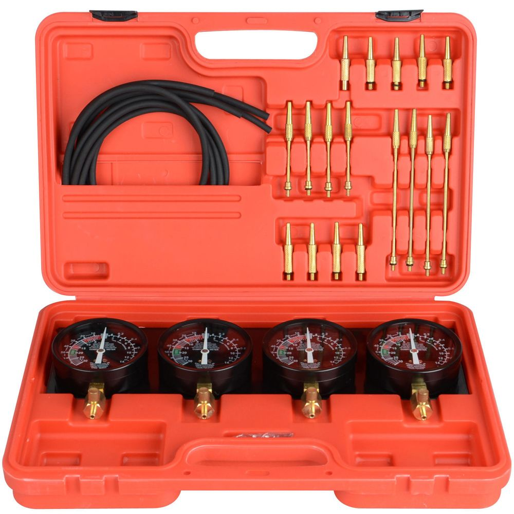 Fuel Vacuum Carburetor Synchronizer Set Kit For Motorcycle