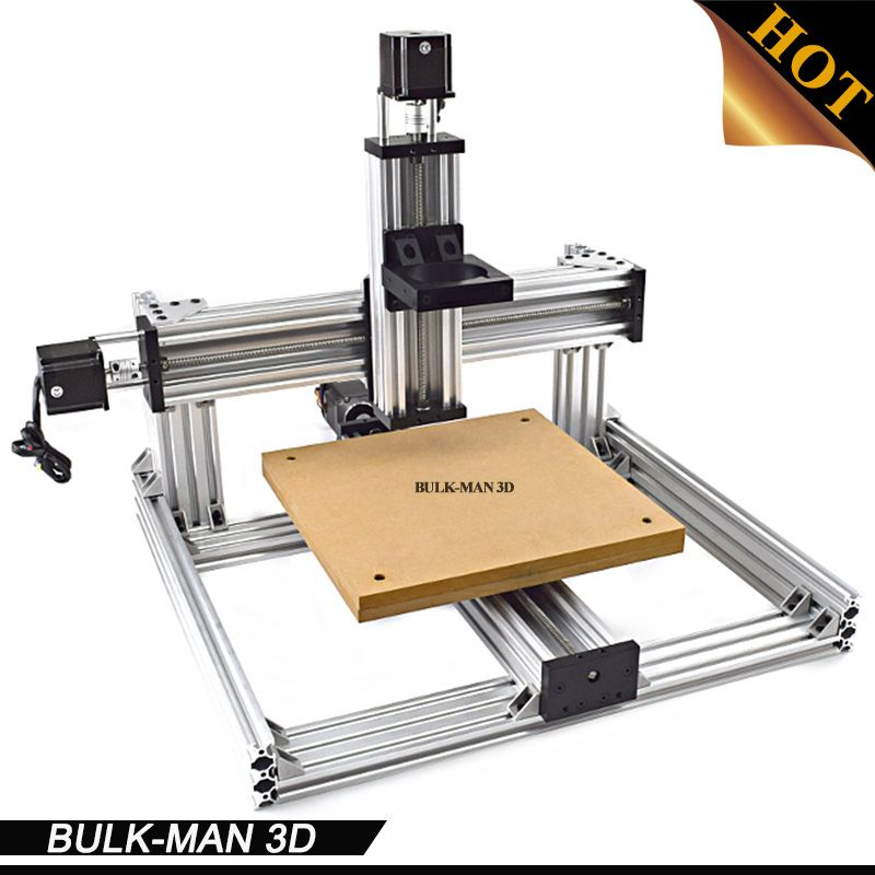 C-Beam machine Mechanical Kit with 3pcs Nema 23 Stepper Motors, DIY C-Beam machine kit, C-Beam Frame kit