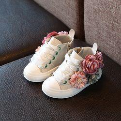 Otoño 2018 nuevos niños de la manera zapatos al aire libre súper perfecto diseño lindo niñas princesa zapatos casual zapatillas 1-3 años de Edad