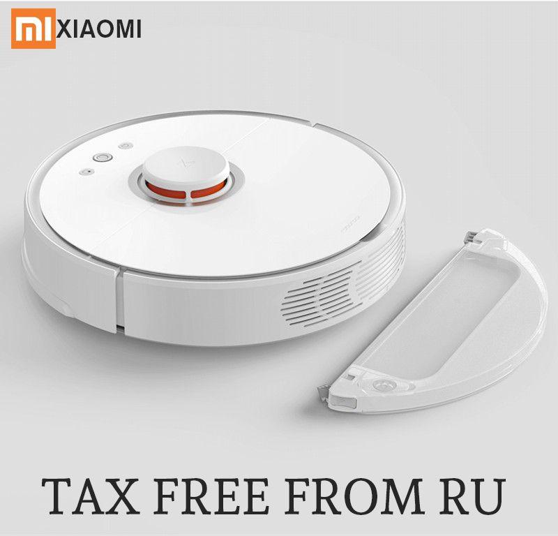 2018 neue Roborock S50 Xiao mi mi Roboter Staubsauger 2 Geplant Reinigung Staubsauger für Home Sweep Nass Mopp app Control