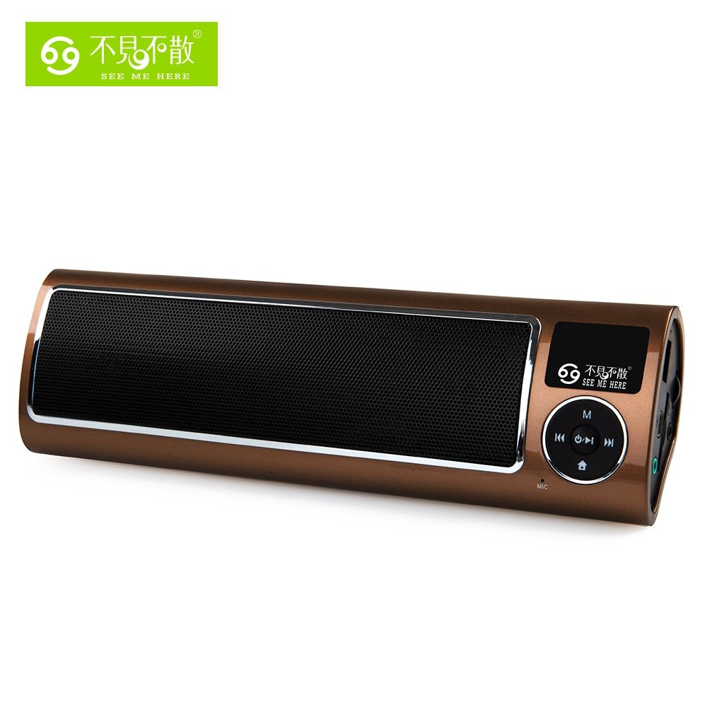 LV520-iii Radio Portable speaker MP3 Player Special for Olders with Loud and High Quality <font><b>Sound</b></font> Support USB Disk and TF Card