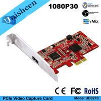 HD видео карты захвата PCIe 1080P30 HDMI карты захвата vmix wirecast obs