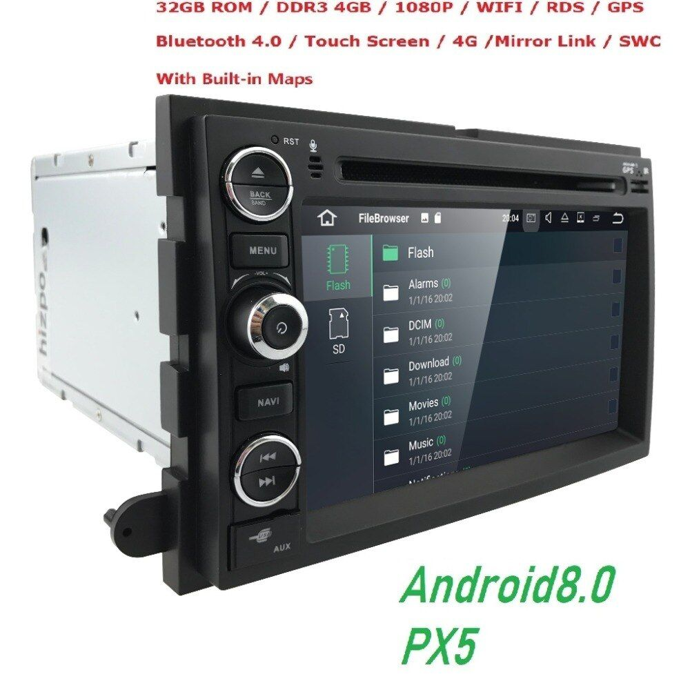 Android8.0 4 GB + 32 GB Auto DVD Player GPS Navigation für Ford F150 F250/F350 Explorer Rand Mustang escape Mercury Milan Mountaineer