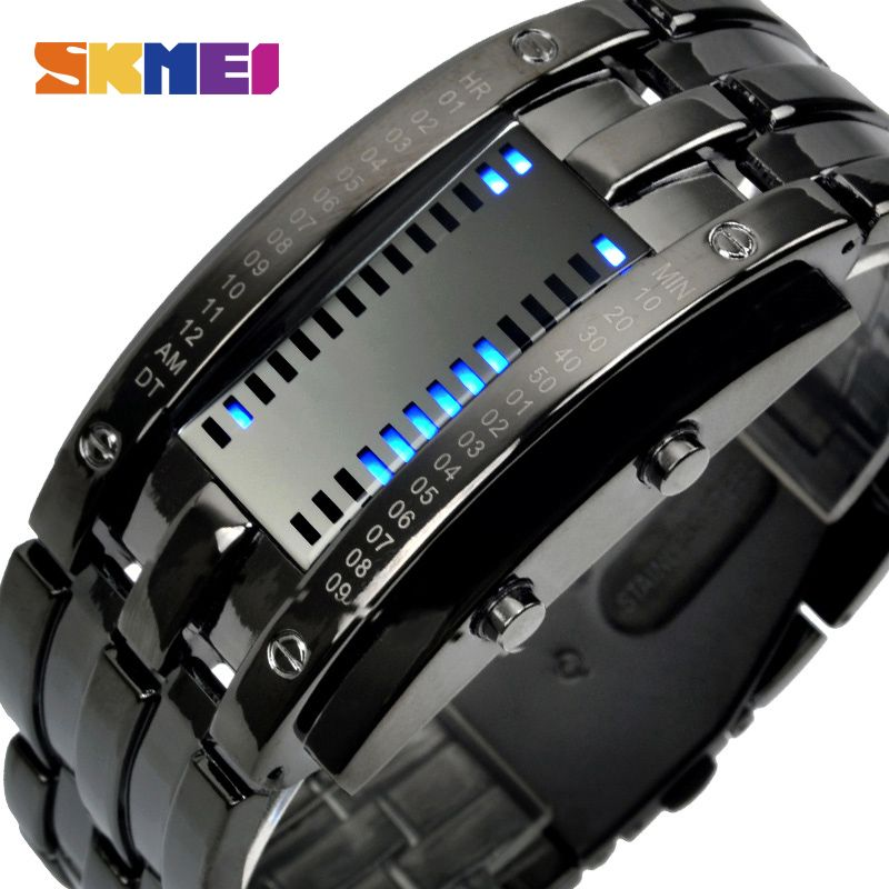 SKMEI Lovers Creative Fashion LED Smart Watches Men Sleep Tracker Pedometer Waterproof Sport Couple Watch Digital Wristwatches