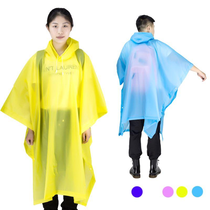 Imperméable universel hommes imperméable Transparent femmes Poncho imperméable couverture imperméable Camping Capa de chuva Feminina chubasquero