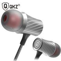 Наушники QKZ X9 Clear Voice fone де ouvido металлические наушники-вкладыши Super Bass Go Pro Наушники мобильный компьютер MP3 Универсальный 3,5 мм