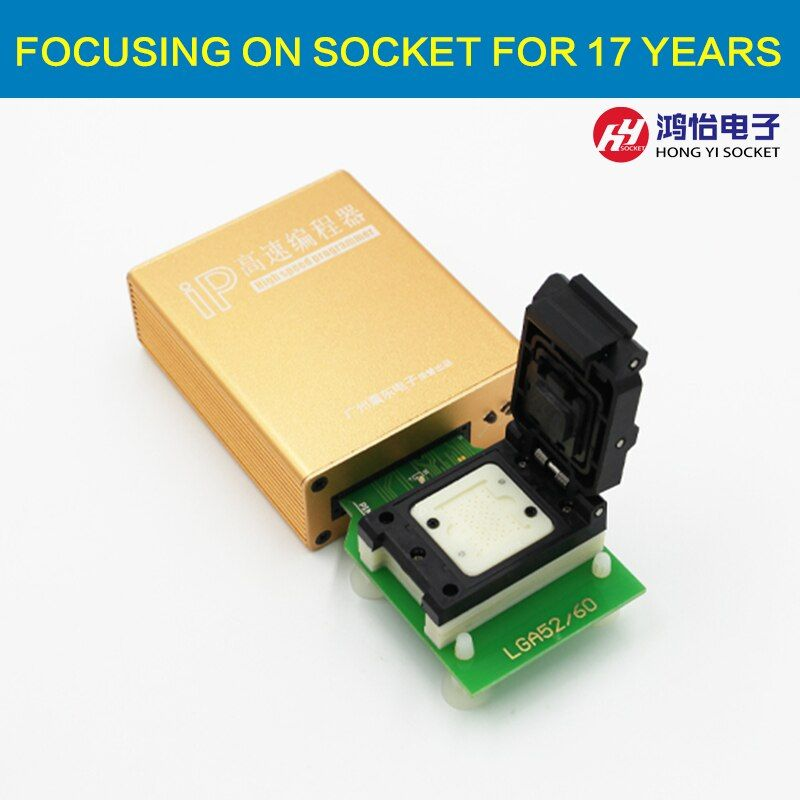 New ip box V 2 high speed NAND Flash IC Programmer for iphone ipad hard disk 4s 5 5c 5s 6 6plus memory upgrade tools 16G to 128G