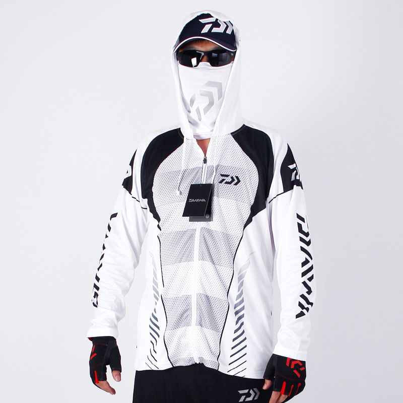 2017 High Quality Outdoor Men Sportswear Original Creative Design Fishing Jersey Moisture Wicking Unique hooded-clothing SS002