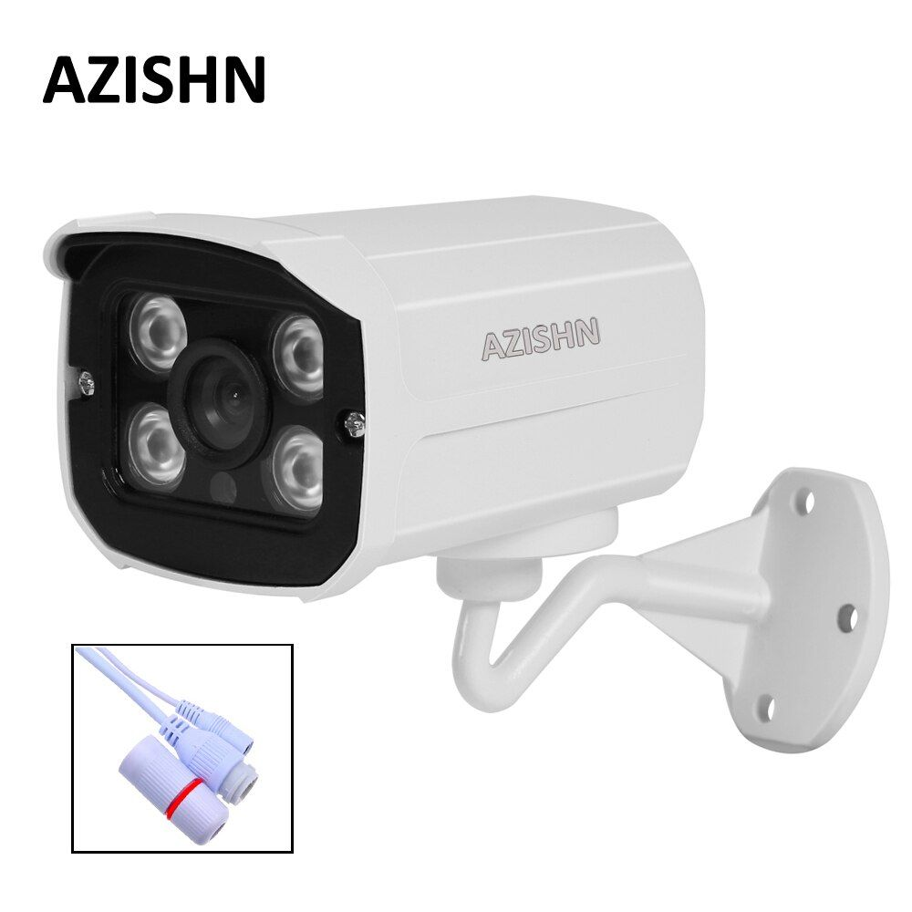 NEUE 4MP IP Kamera ONVIF H.265/H.264 4 stücke ARRAY LEDS Freien Wasserdichte IP66 metall CCTV Kamera 25fps Hi3516D + 1/3