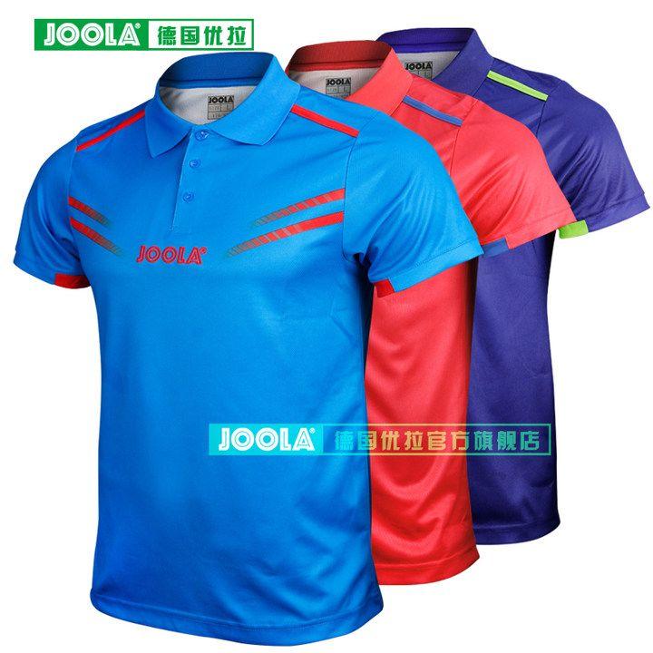 JOOLA Köln (2018 Neue, Gleiche Aruna Quadri & Chen Weixing) tischtennis Trikots T-shirts für Männer Frauen Ping Pong Ausbildung Tuch