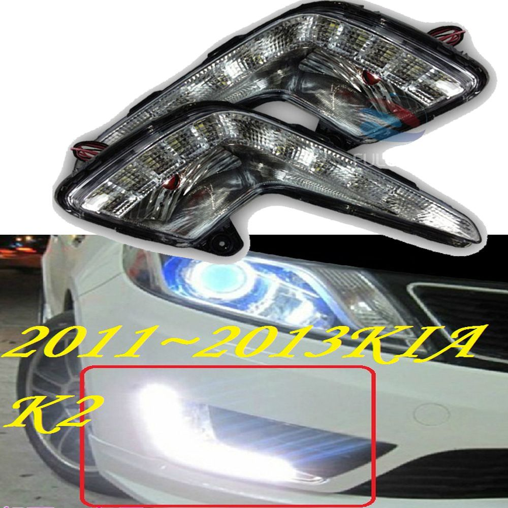 LED,2011~2013 KlA K2 daytime Light,K2 fog light,K2 headlight;soul,spectora,k5,sorento,kx5,Sportage R,K 2 ,Rio
