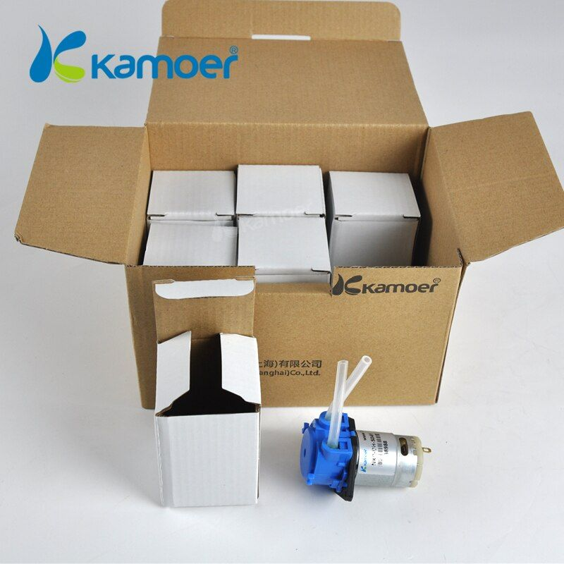 Kamoer NKP pompe doseuse péristaltique 24 V/12 V/6 V/3 V, Mini pompe DC pour eau et Aquarium