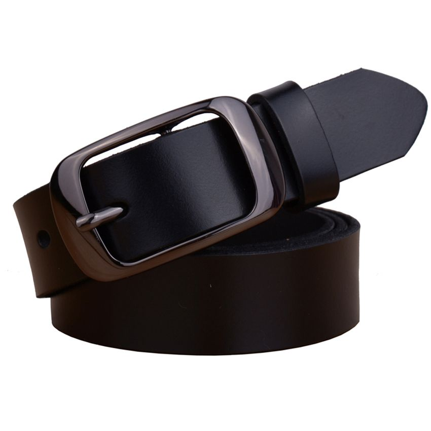 Factory Direct Quality Assurance Best Price New Fashion Cowskin Leather Women Belt Brief  Women Strap Designer Casual Belt