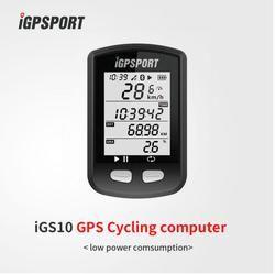 IGPSPORT IGS10 ANT + GPS Bluetooth Dukungan Sepeda Stopwatch Speedometer Bersepeda Sepeda Komputer Nirkabel Tahan Air