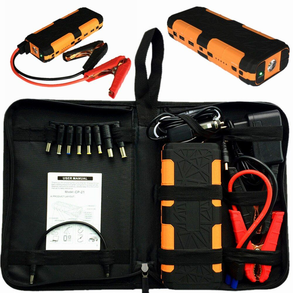 2018 Mini Car Jump Starter Portable 20000mAh Starting Device Power Bank 12V Car Battery Charger For Deisel Petrol Buster Booster