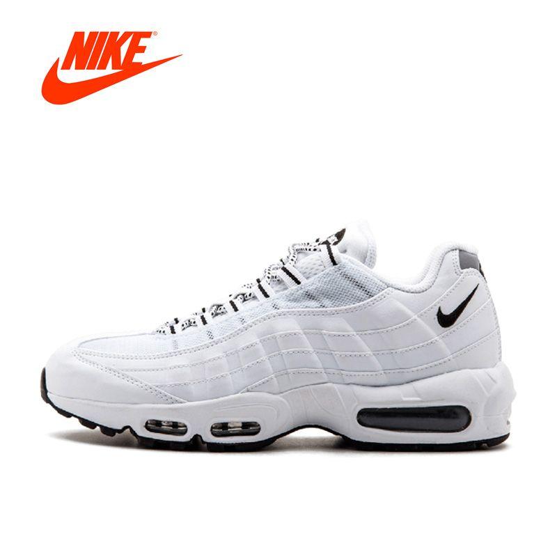 Оригинальный Новое поступление Официальный Nike Air Max 95 Для мужчин дышащие Кроссовки спортивные Спортивная обувь на платформе классические Т...