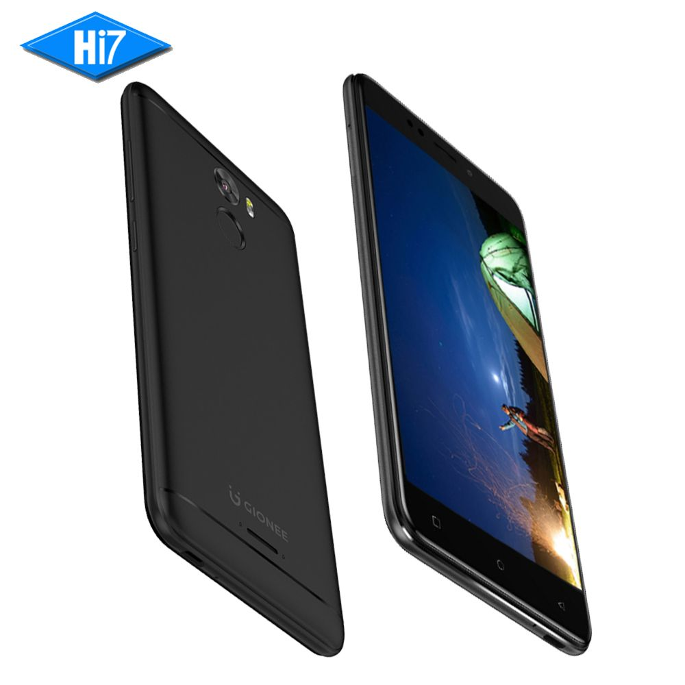 New Gionee X1s 3G RAM 32G ROM 4000mAh Battery 5.2inch 16.0MP Front Camera Dual Sim Quad Core MTK Android LTE Smart Mobile Phone