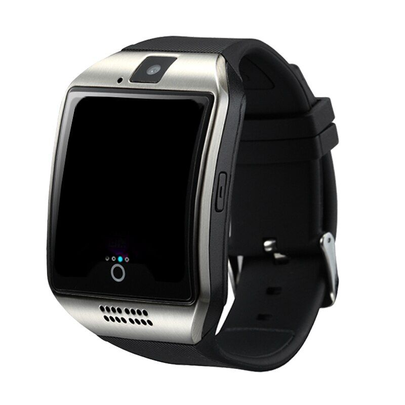 <font><b>SmartWatch</b></font> New Q18 Passometer Smart watch with Touch Screen Camera TF card Bluetooth <font><b>Smartwatch</b></font> for Android IOS Phone Men Watch