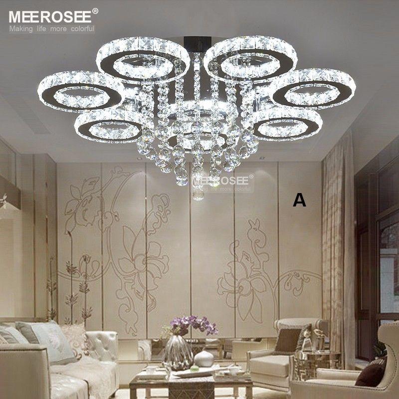 Heißer Verkauf Moderne Kristall Led-deckenleuchte Diamant Kristall Luminarias FÜHRTE Unterputz Lampe Beleuchtung für wohnzimmer