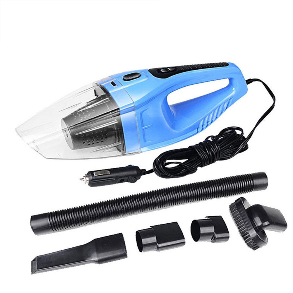 120W Car Vacuum Cleaner 4000Pa 12V Portable Car Vacuum Cleaner Wet And Dry Dual Use  Car Accessoreis
