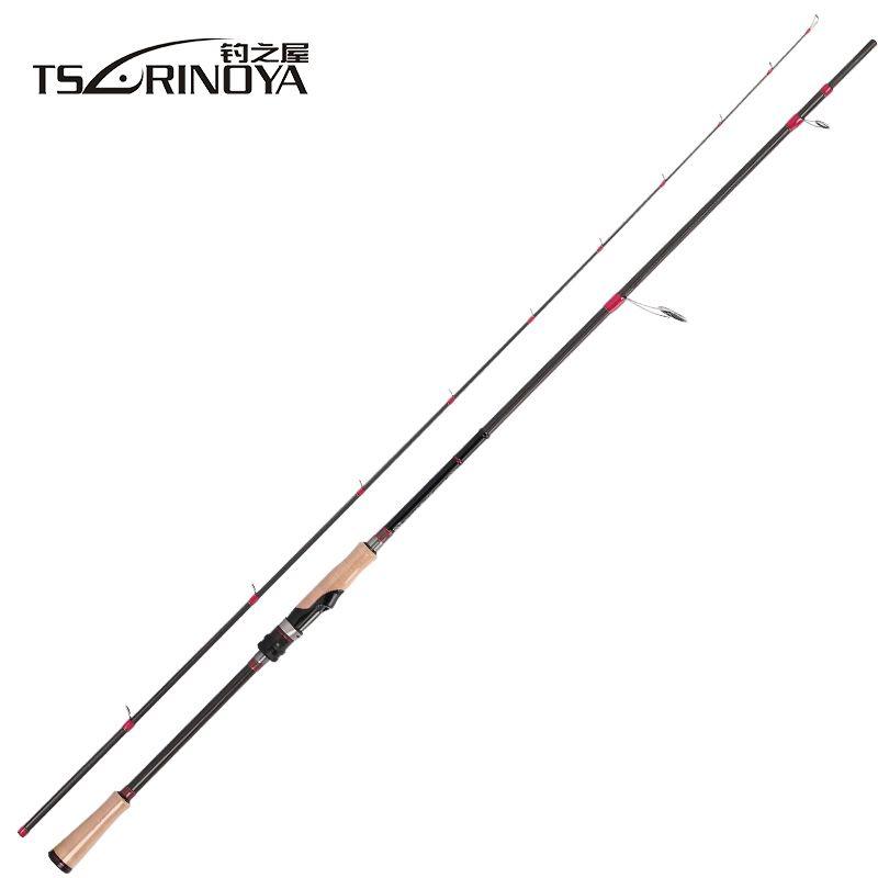 TSURINOYA SWORDSMAN 2.62m Spinning or Casting Fishing Rod FUJI Reel Seat and FUJI Guide Ring MH Power Distance Throwing Lure Rod
