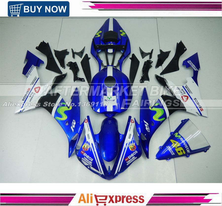 2004 2005 2006 R1 Fairing kit YZF for Yamaha ccessories New Arrival