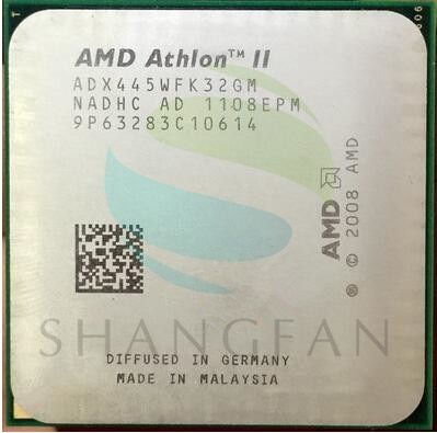 AMD Athlon II X3 445 3.1 GHz Triple-Core CPU Processor ADX445WFK32GM Socket AM3 938pin