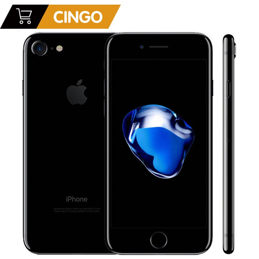 Entsperrt Apple iPhone 7/7 Plus 4G LTE Handy 32/128 GB/256 GB IOS 10 12.0MP Kamera Quad-Core Fingerabdruck 12MP 2910mA