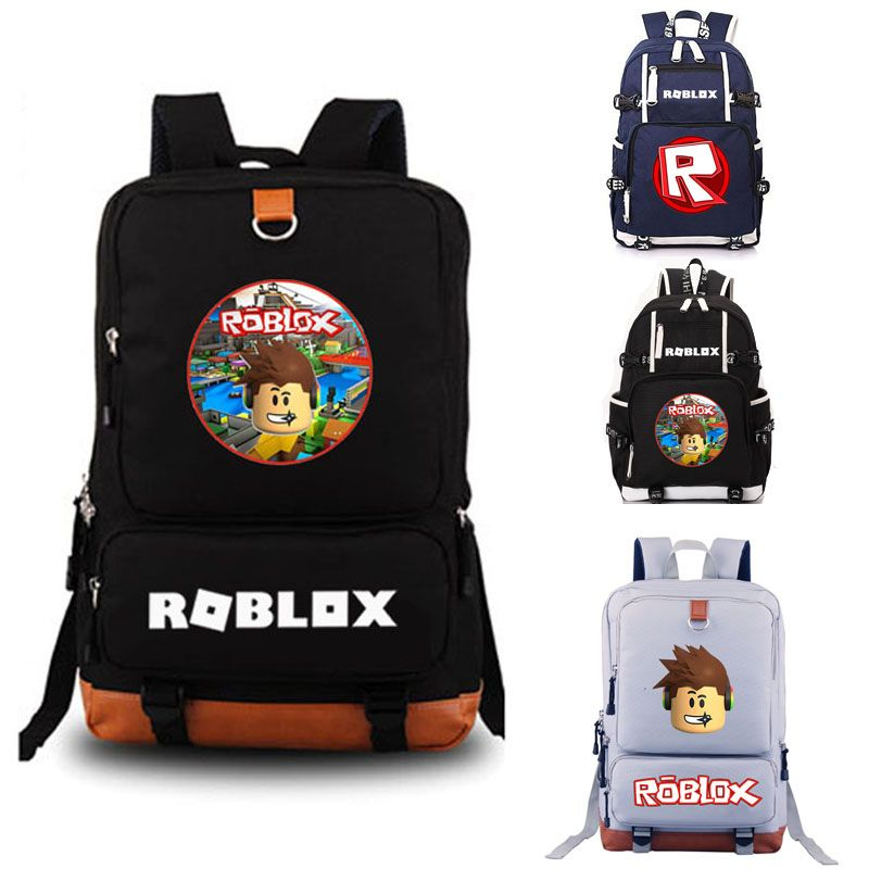 Roblox school bag Rock Band backpack student school bag Notebook backpack Leisure Daily backpack