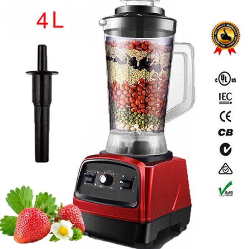 2800 watt 4.0L 3HP BPA FREIE kommerzielle professionelle smoothies leistungsstarke mixer mixer entsafter mit deutsch motor technologie